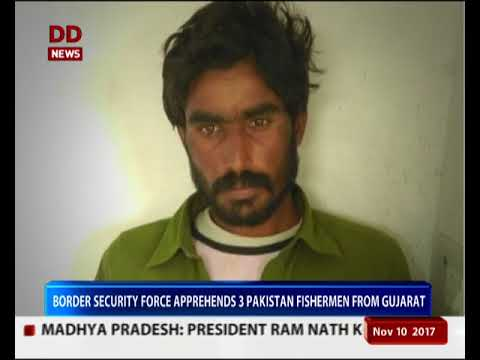 BSF apprehends 3 Pakistan fishermen from Gujarat