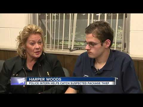 Police intern with autism turned successful crimefighter in Harper Woods