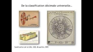 CDU (Classification Décimale Universelle), prémice des moteurs de recherche?