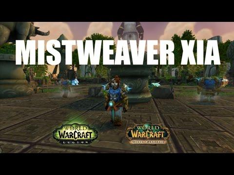 Mistweaver Xia Mists of Pandaria Timewalking Vendor Location