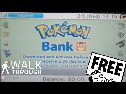 how to get pokemon bank for free