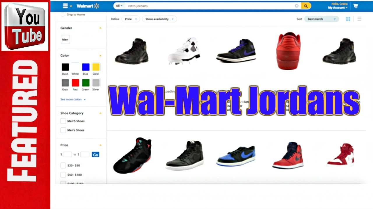 I Ordered Jordans From Wal-Mart!!! - YouTube ab482ae12