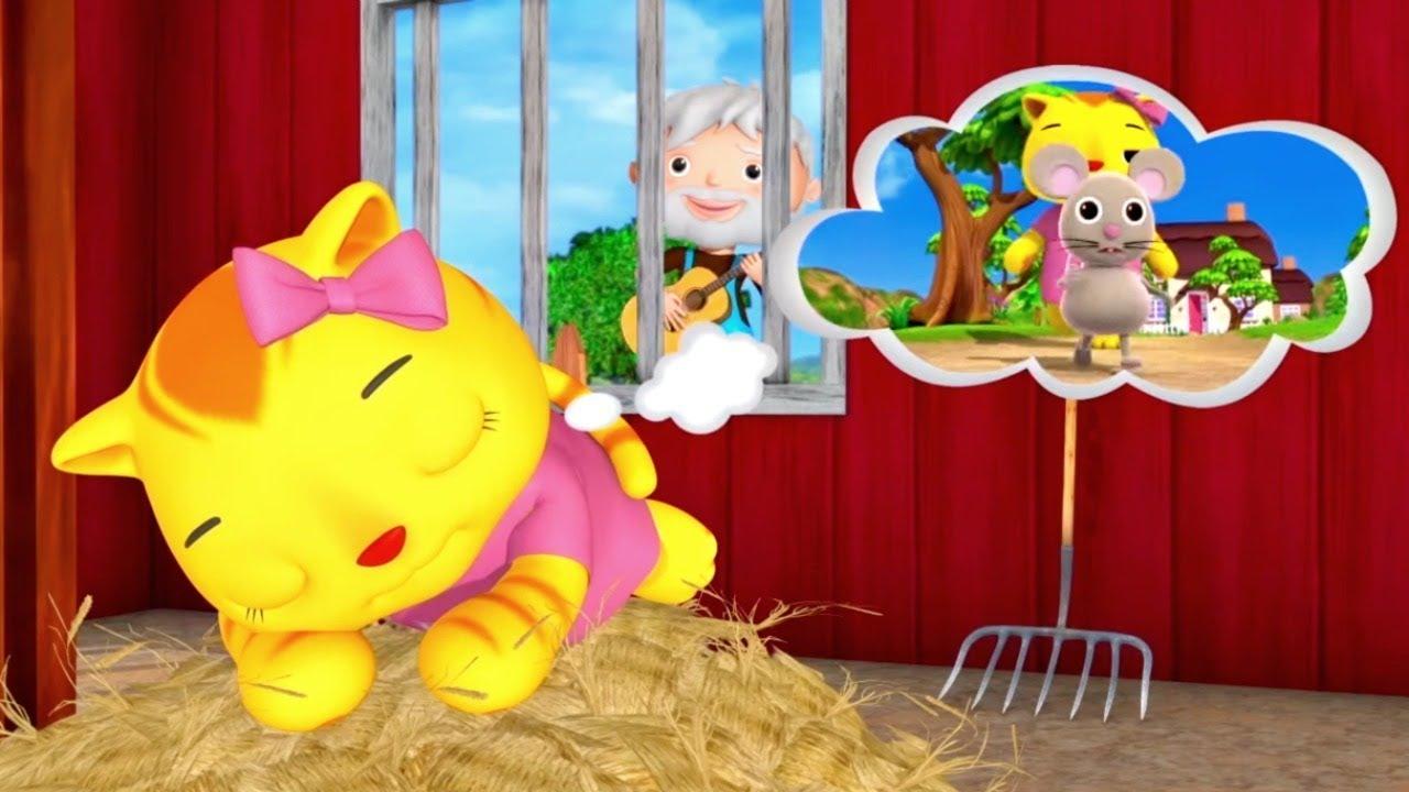 Звукоподражание - Животные. Музыкальные мультики для детей Литл Бэйби Бам