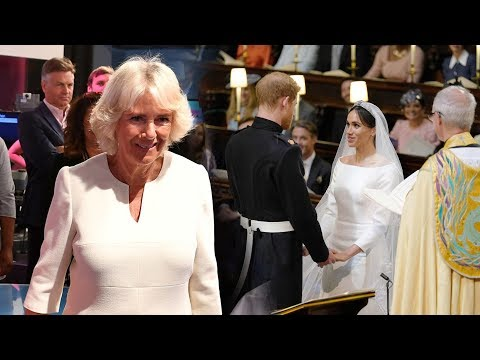 Camilla said Harry & Meghan's wedding as 'uplifting' but admitted not sure 'what would happen next'