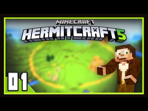 HermitCraft Season 5  Episode 1:  Making The City And Hilarious Caving