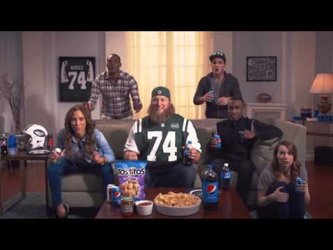Pepsi  NFL Super Bowl XLIX TV Ad - Nick Mangold Gets Hyped for Halftime