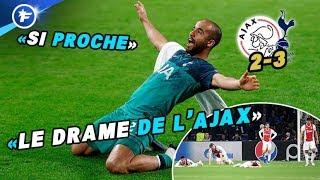 L'incroyable triplé de Lucas Moura fait pleurer l'Ajax et les Pays-Bas | Revue de presse