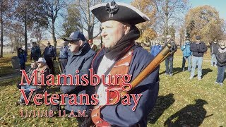 Miamisburg Veterans Day 2018