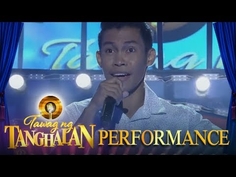 Download Tawag ng Tanghalan: Aljun Alborme   To Love Somebody