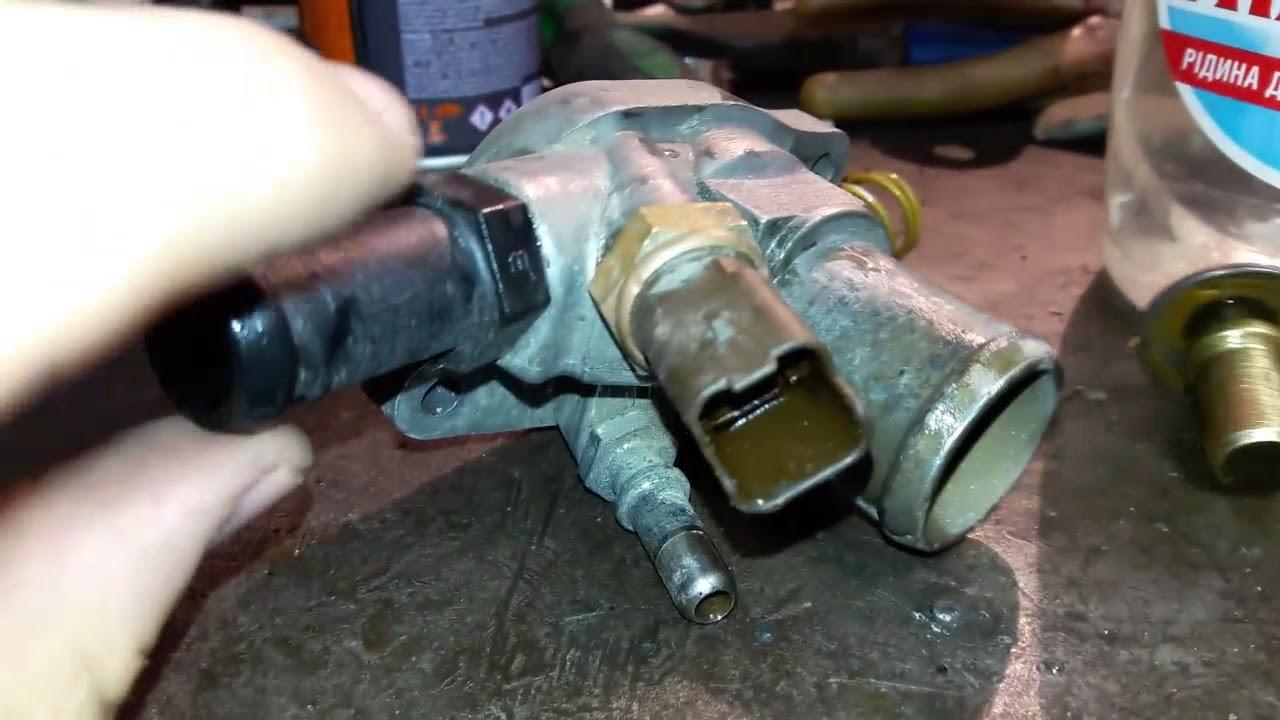 как поменять термостат на фиат альбеа