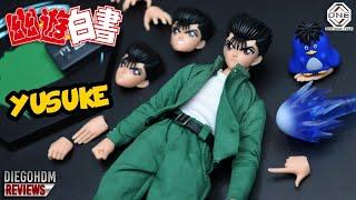 YUSUKE URAMESHI One Shot Toys YuYu Hakusho Review BR / DiegoHDM