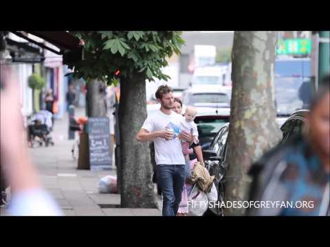 Jamie Dornan and Amelia Warner out in London - August, 20 - 2014