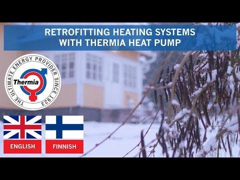Retrofitting Fossil-based Heating Systems With Thermia Heat Pump