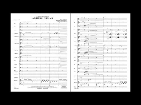 A Million Dreams from The Greatest Showman arr. Michael Brown
