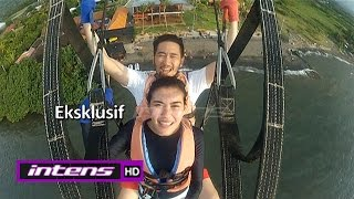 Syahnaz-Jeje Uji Adrenalin Bermain Parasailing - Intens 17 Mei 2016