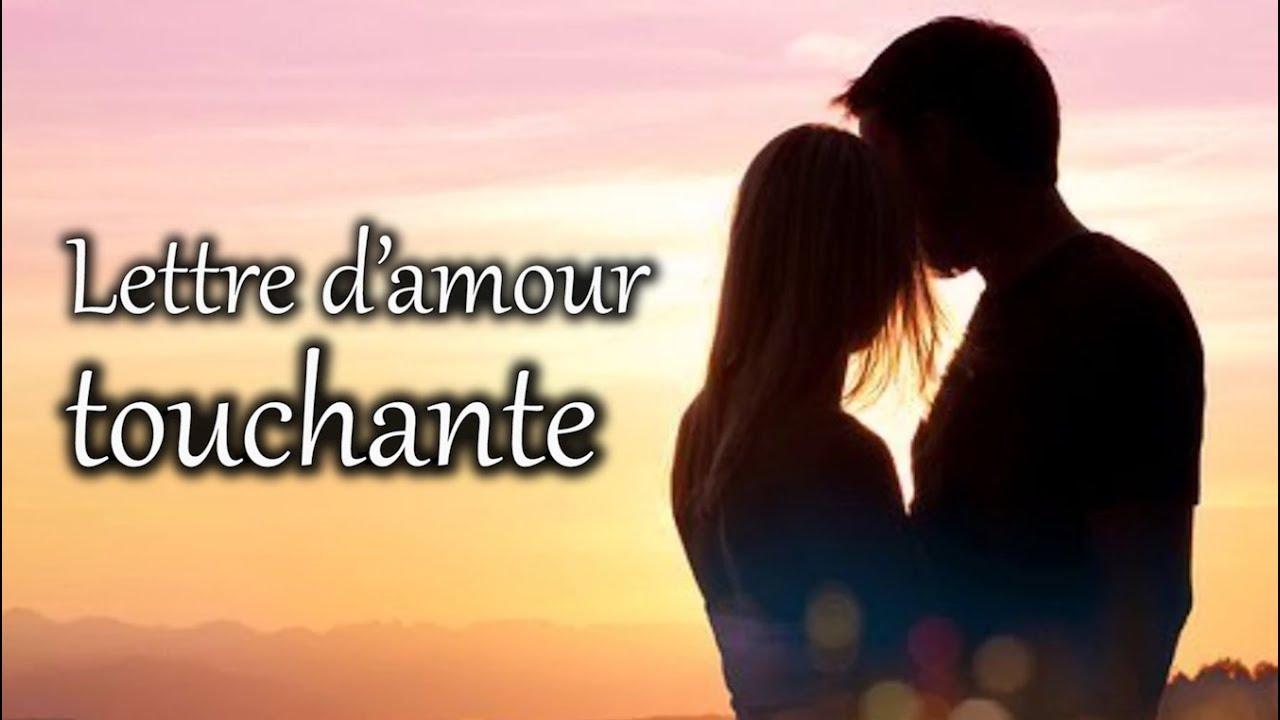 Lettre Damour Touchante