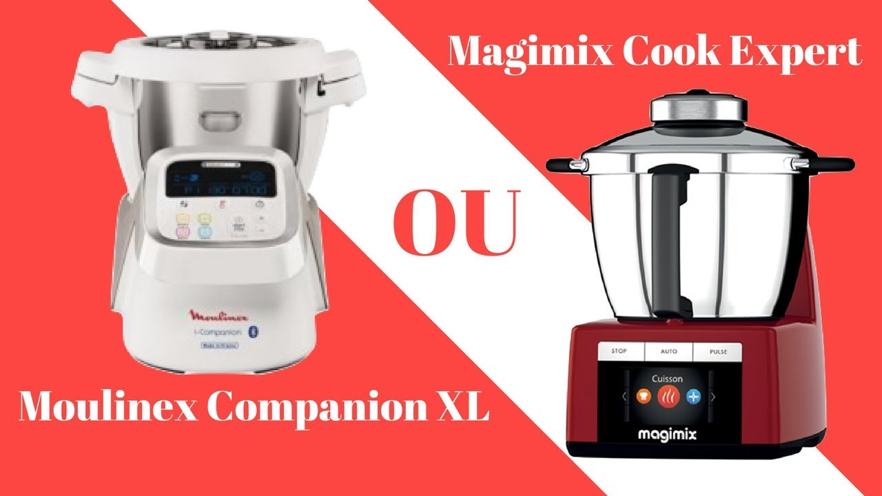 i companion xl moulinex vs cook expert magimix youtube. Black Bedroom Furniture Sets. Home Design Ideas