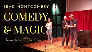 Comedy & Magic  | Brad Montgomery