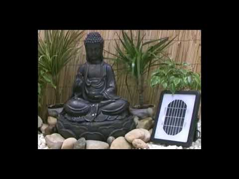 Solar Water Features Video