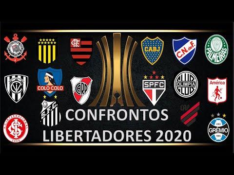 LIBERTADORES 2020, CONFIRA OS CONFRONTOS!