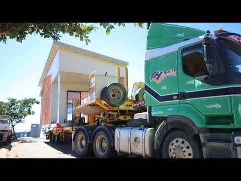 Factory Built Hill Site Chilott Court  slideshow