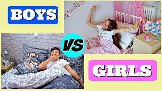 Kluci VS holky - RANNÍ RUTINA