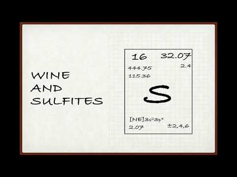 wine article Winecast Wine and Sulfites