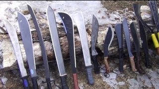Machetes 3: Types of Machete