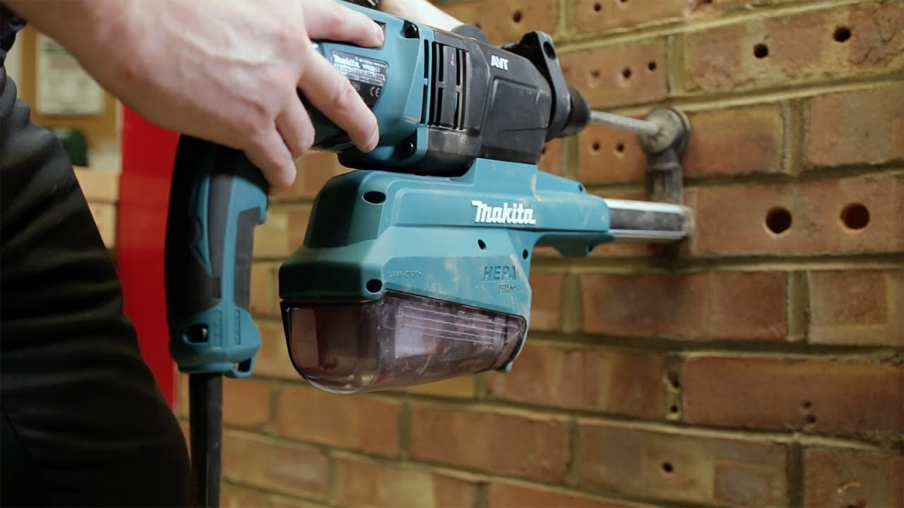 Makita HR2650 & HR2651 SDS+ Rotary Hammers <b>With Dust Control</b>
