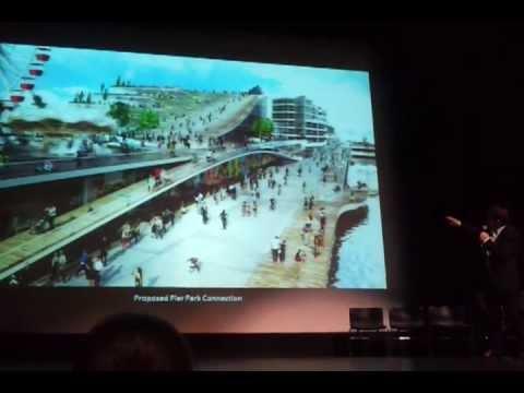 Bjorke Ingels - BIG AECOM Navy Pier Chicago Architecture Competition