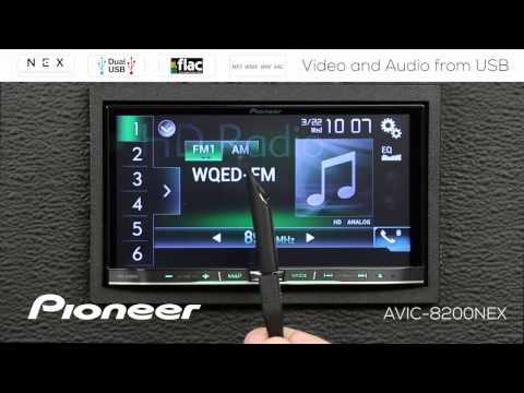 How To - Video And Audio From USB On Pioneer NEX Receivers 2017