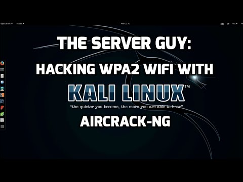 Pentest: Hacking WPA2 WiFi using Aircrack on Kali Linux