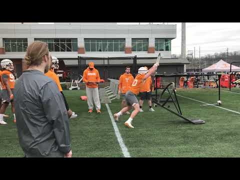 2019 Tennessee Football Spring Practice 1