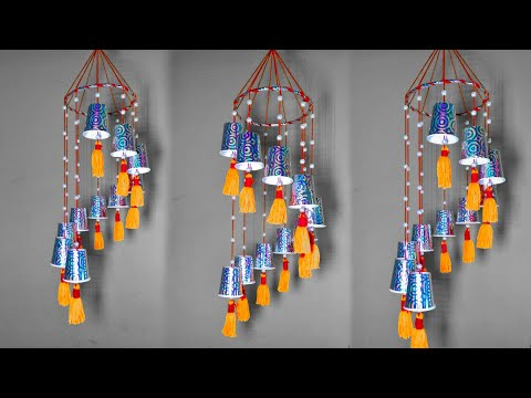 Wind chimes // Wind chime making at home // Room decoration ideas