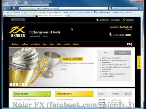 2.Open Forex Account (วิธีเปิดบัญชี ฟอเรกซ์)