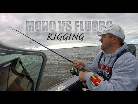 Mono Vs Fluoro Leaders When Rigging For Walleyes