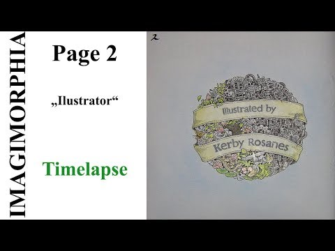 "imagimorphia-by-kerby-rosanes-page-2-""illustrator""-timelapse"