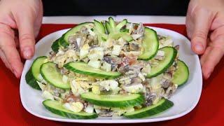 Готовила в прошлом году, буду готовить и в этом! Салат на Праздничный Новогодний стол!