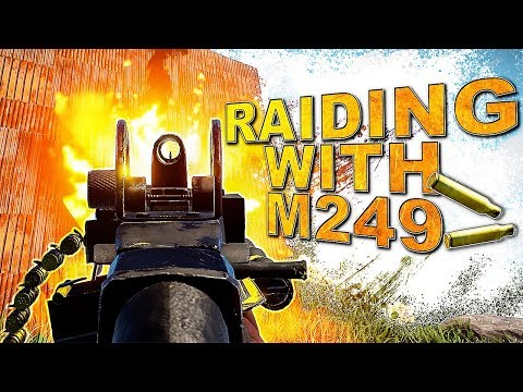 Raiding KOREANS and a SALTY CLAN with M249 & ROCKETS | Rust Trio Series #2