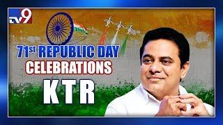 KTR Flag Hoisting Live || 71st Republic Day Celebrations at Telangana Bhavan