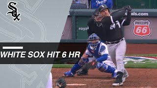 White Sox open the season with six homers