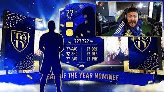 OMG I PACKED 10 TOTY NOMINEES!! FIFA 20