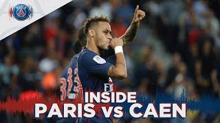 INSIDE - PARIS SAINT-GERMAIN vs CAEN
