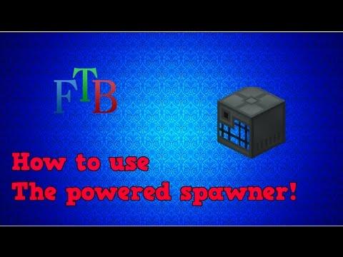 minecraft powered spawner