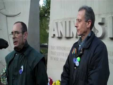 Purple Poppy: Commemorating the Animal Victims of War.