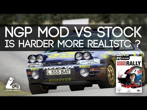 IS HARDER MORE REALISTIC ?   - RBR -  NGP MOD VS VANILLA  [DOWNLOAD INCLUDED]