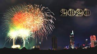 Trực tiếp bắn pháo hoa 2020 Hầm Thủ Thiêm New Year& 39 s Eve 2020