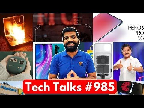 Tech Talks #985 - Laptop Blast, Color OS 7, Realme X50 Specs, Motorola One Hyper, Nokia Smart TV