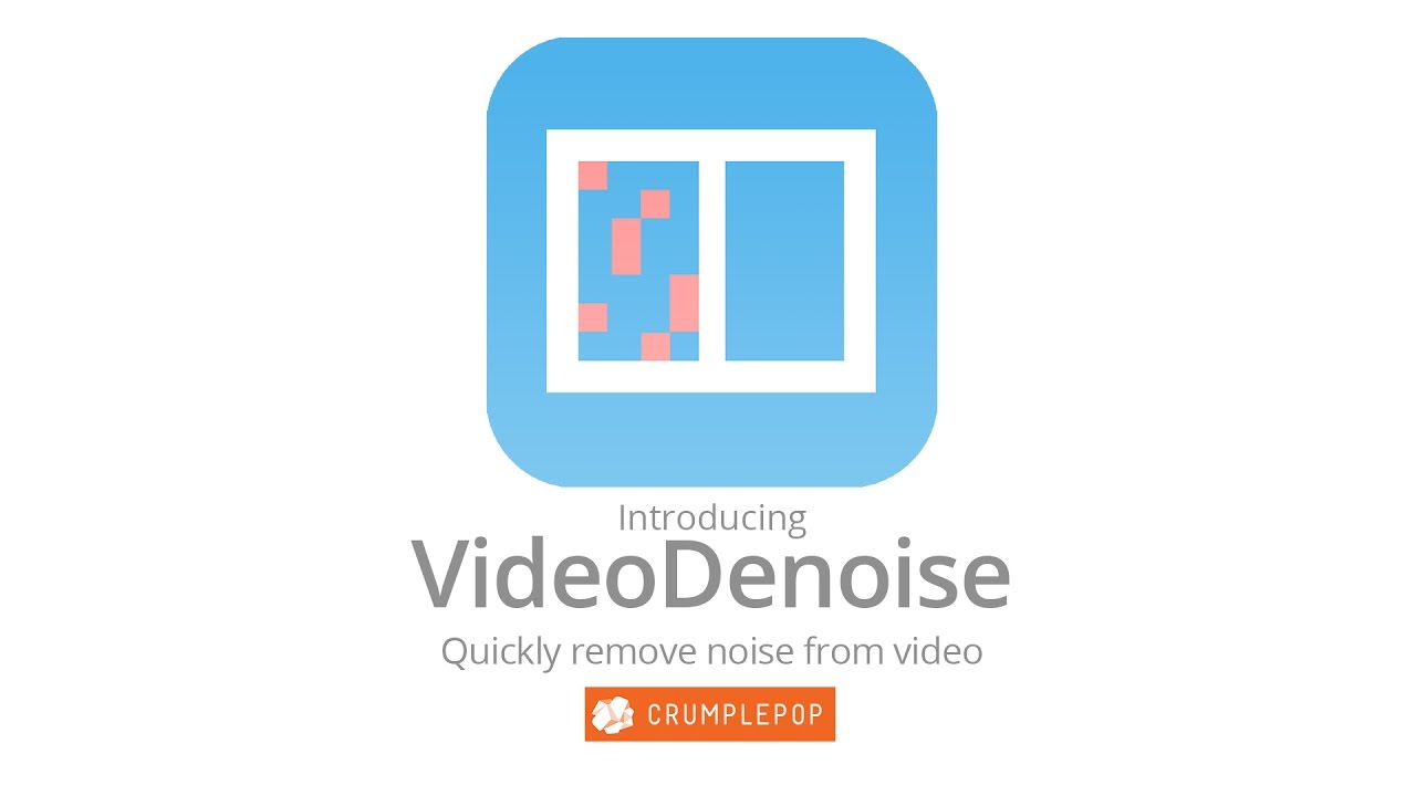 VideoDenoise for FCP X and Premiere Pro