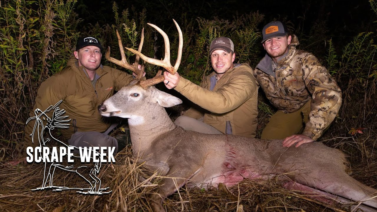 Finding Success Bow Hunting Scrapes in late October #SCRAPEWEEK